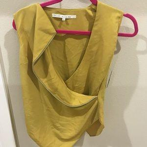 Women's overlay blouse